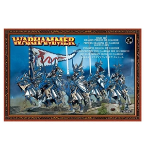 Warhammer Age of Sigmar: Order Draconis: Dragon Blades (High Elf Dragon Prices Of Caledor)