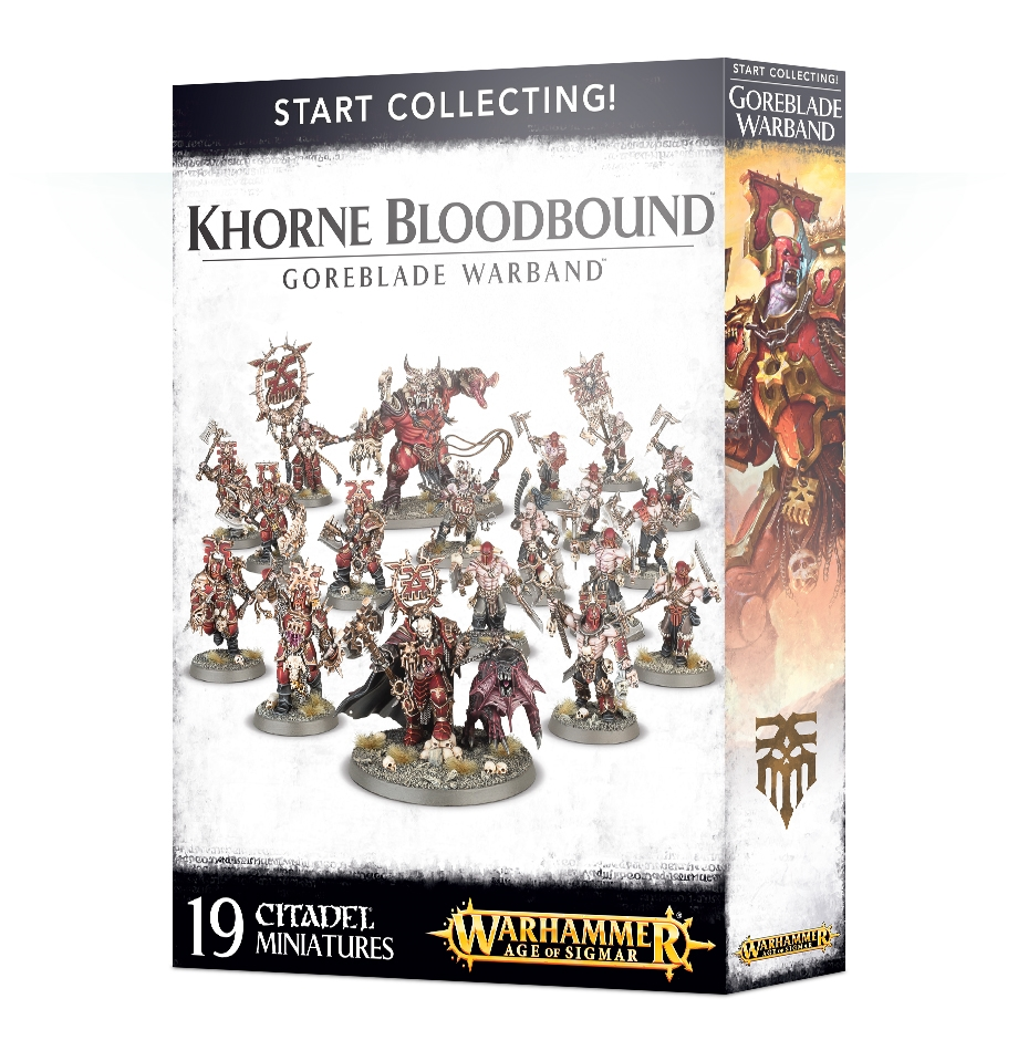 Warhammer Age of Sigmar:  Start Collecting: Goreblade Warband