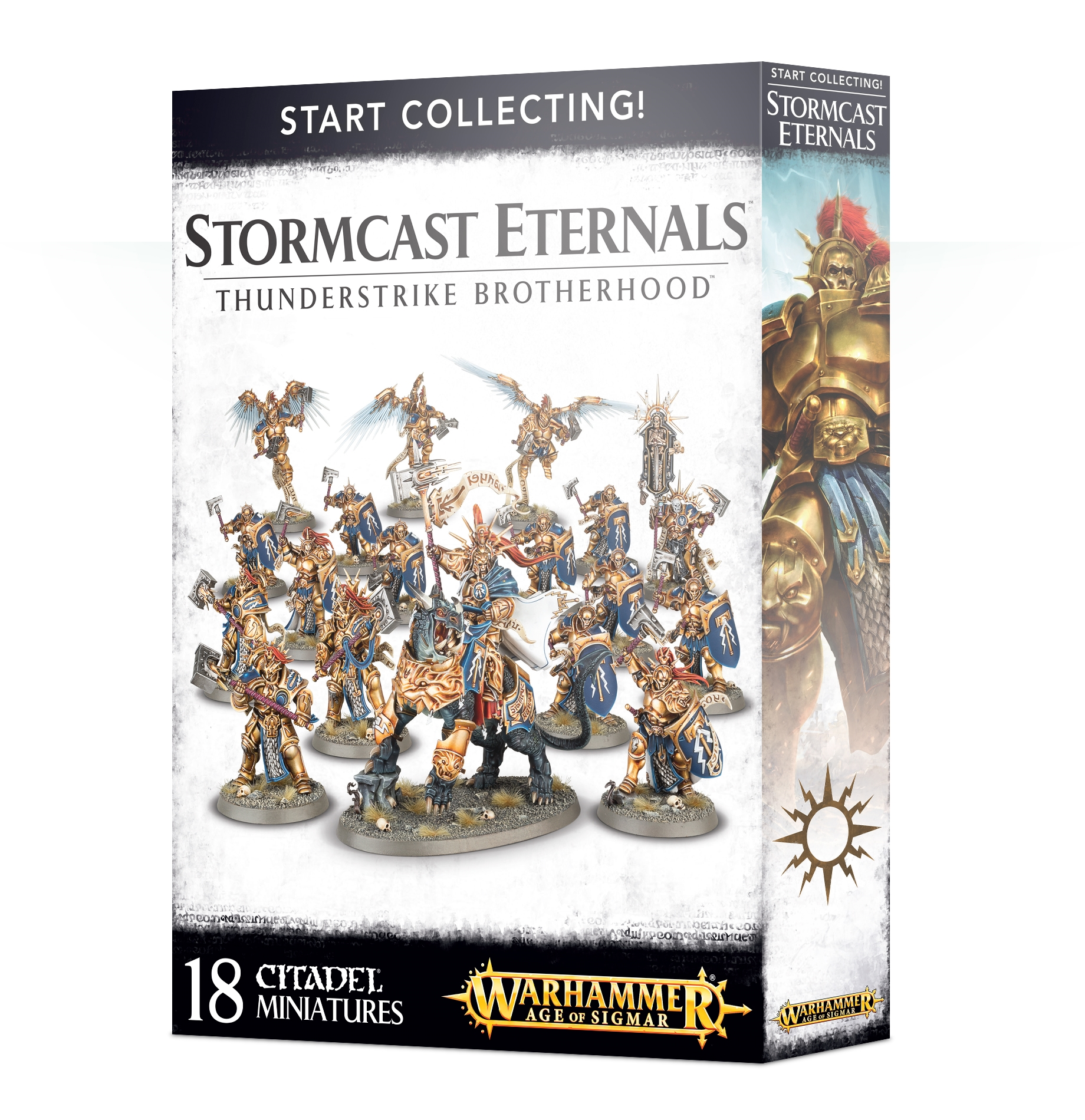 Warhammer Age of Sigmar: Start Collecting! Thunderstrike Brotherhood