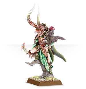 Warhammer Age of Sigmar: Wanderers: Wayfinder (Wood Elf Lord with Bow)