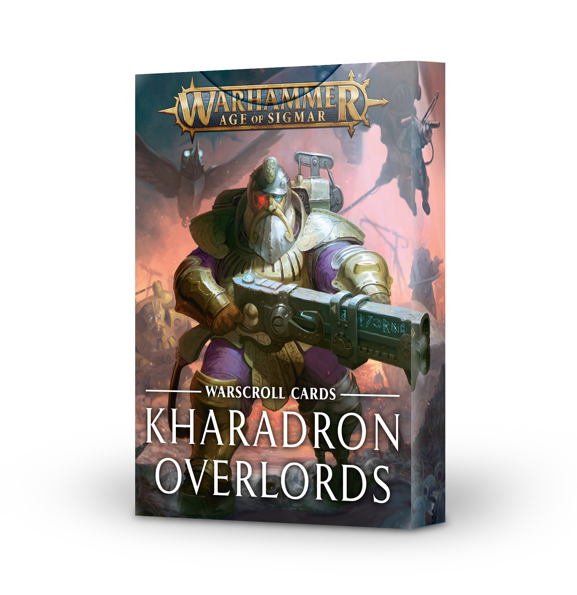 Warhammer Age of Sigmar: Warscroll Cards - Kharadron Overlords (2020 Edition)