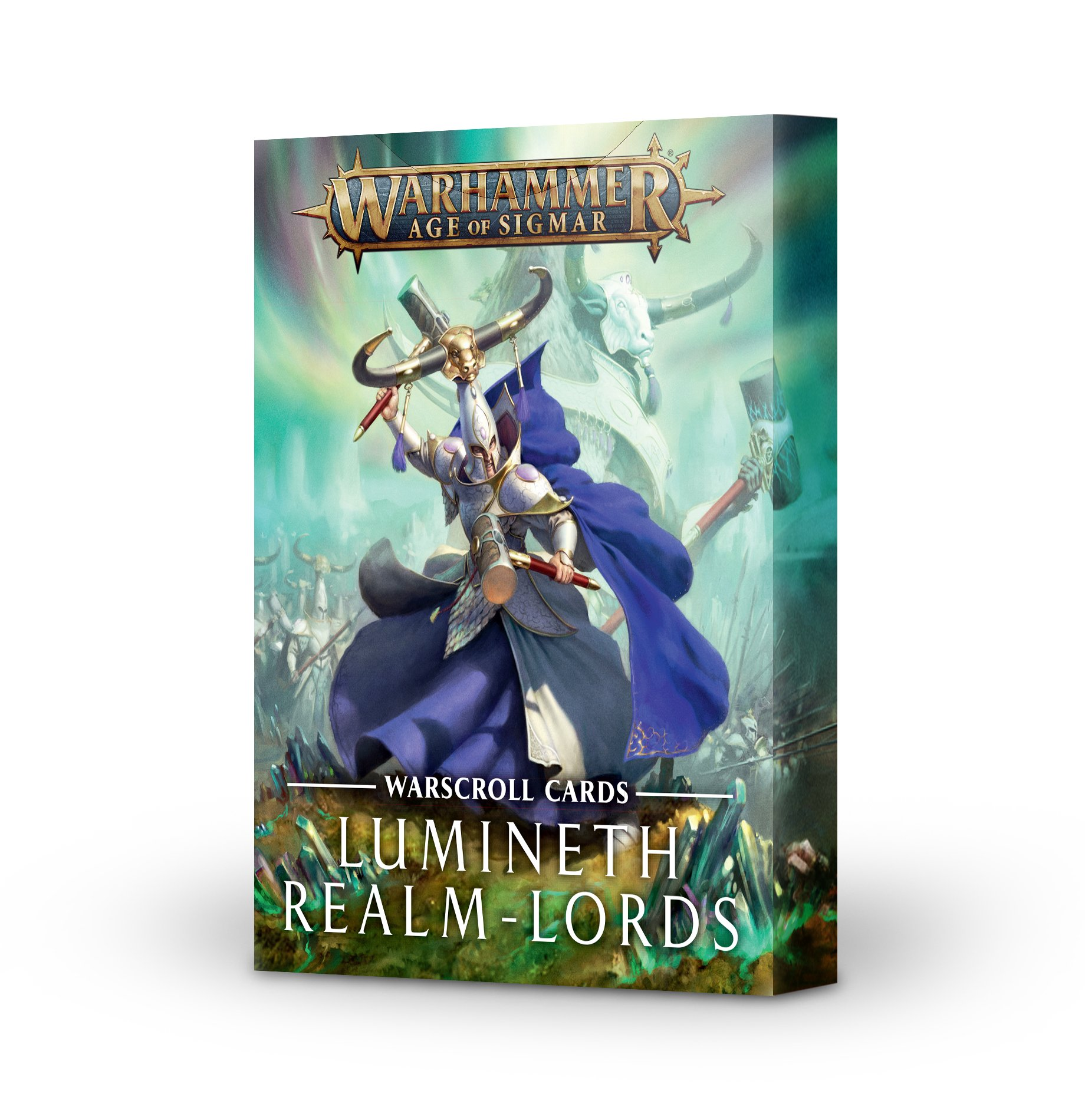 Warhammer Age of Sigmar: Warscroll Cards: Lumineth Realm-lords
