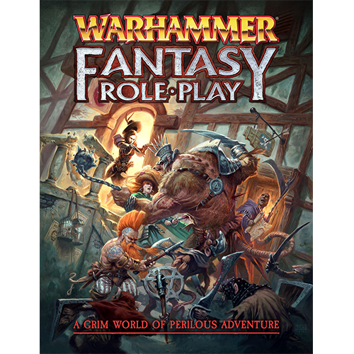Warhammer Fantasy Roleplay (4th Ed): Core Rulebook