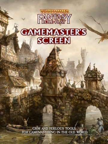 Warhammer Fantasy Roleplay (4th Ed): Gamemasters Screen