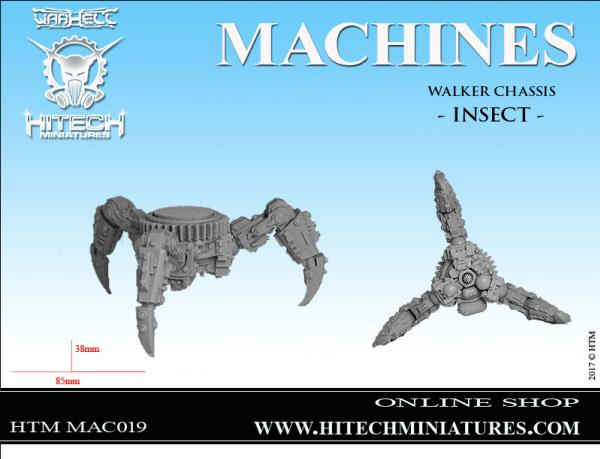 Warhell: Corrupted Machines- Walker Chassis Insect