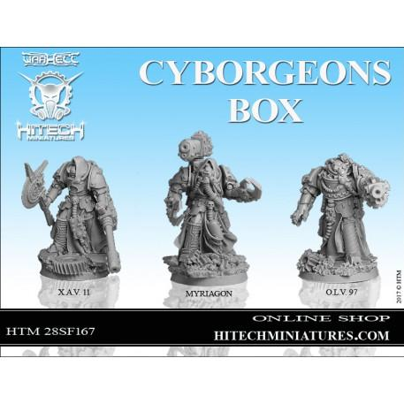 Warhell: Gearcult Bio-Tech Covenant- Cyborgeons Box