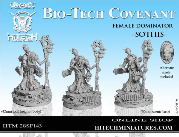 Warhell: Gearcult Bio-Tech Covenant- Female Dominator Sothis
