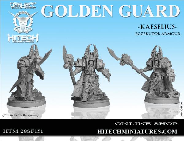 Warhell: Golden Guard- Kaeselius