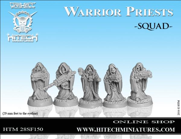 Warhell: Warrior Priest- Squad