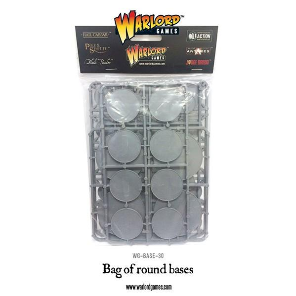 Warlord Games: Bag of Round Bases