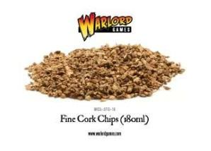 Warlord Games Basing/Flock: Fine Cork Chips (180ml)