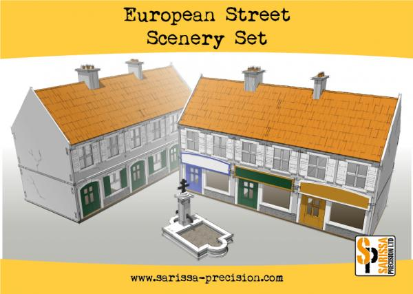 Warlord Games: European Street Scenery Set
