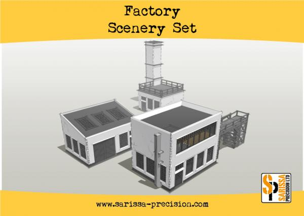 Warlord Games: Factory Scenery Set