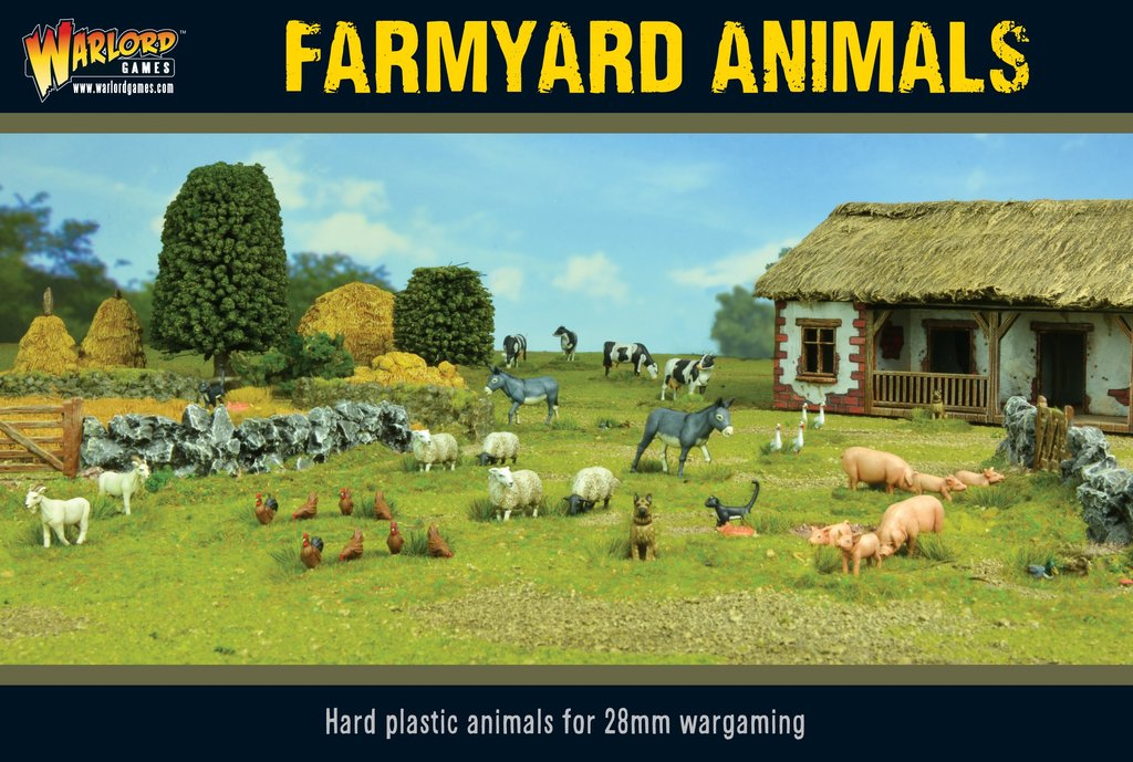 Warlord Games: Farmyard Animals