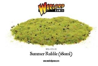 Warlord Games Basing/Flock: Summer Rubble (180ml)