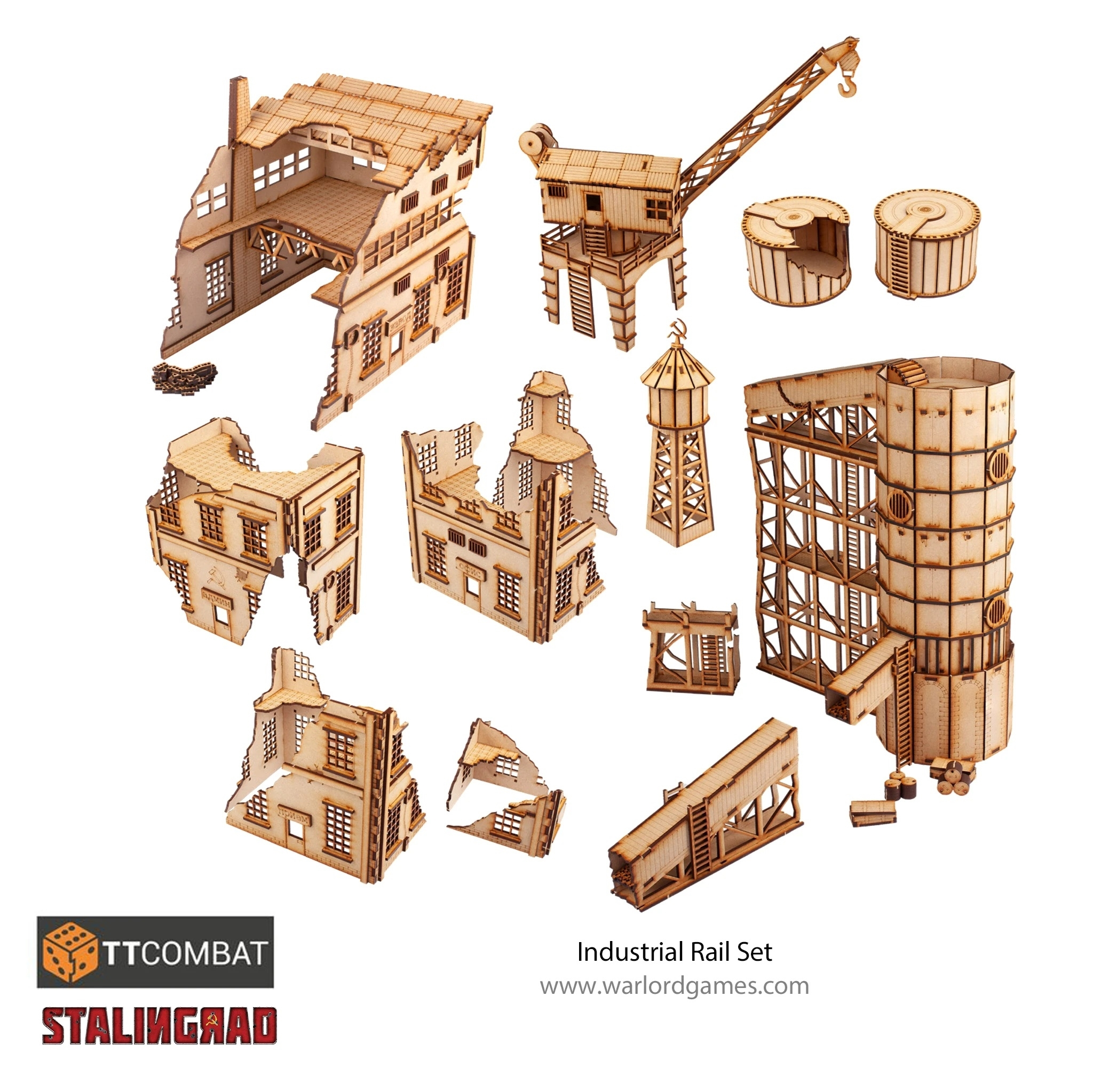 Warlord Games: Industrial Rail Set