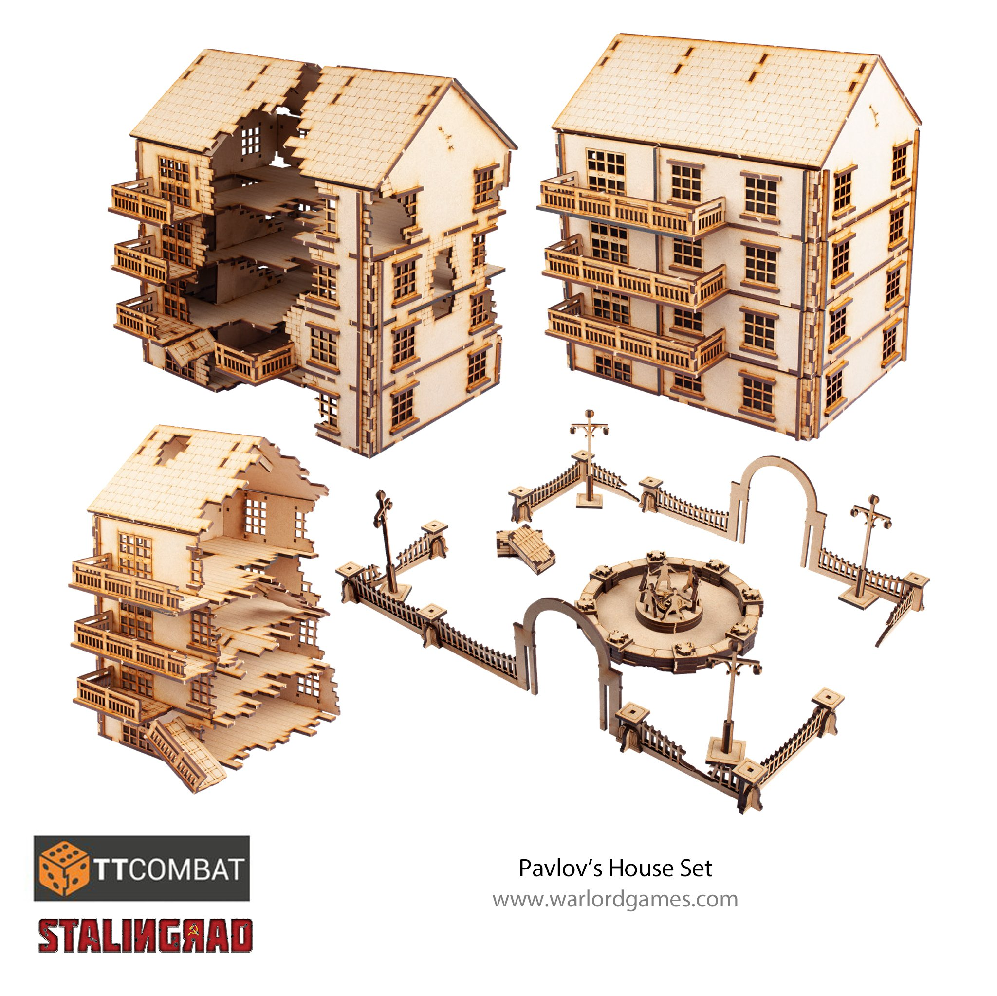 Warlord Games: Pavlov's House Set