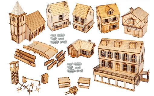 Warlord Games: Rural Village Set