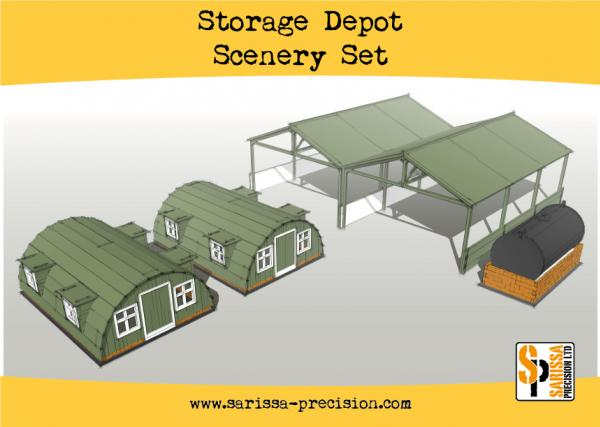 Warlord Games: Storage Shelter Scenery Set