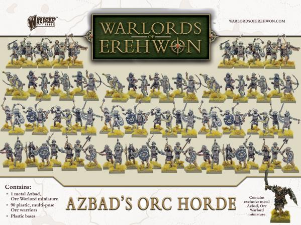 Warlords of Erehwon: Azbads Orc Horde