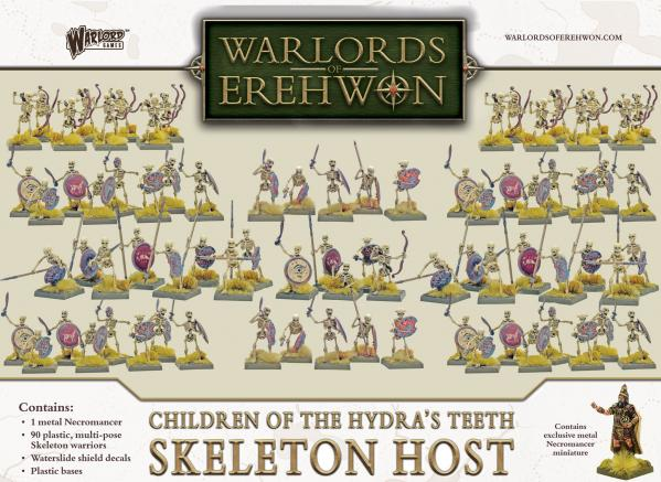 Warlords of Erehwon: Children of the Hydras Teeth- Skeleton Host