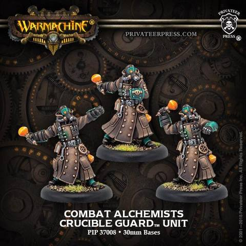Warmachine: Golden Crucible (37008): Combat Alchemist Unit