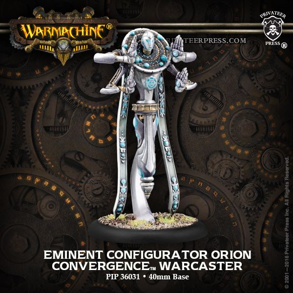 Warmachine: Convergence of Cyriss (36031): Eminent Configurator Orion Warcaster