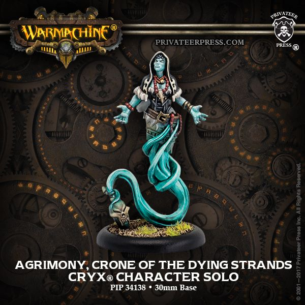 Warmachine: Cryx (34138): Agrimony, Crone of the Dying Strands