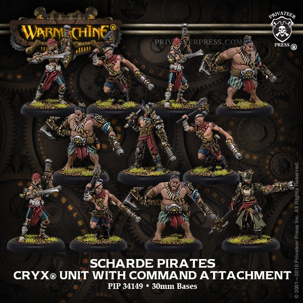 Warmachine: Cryx (34149): Scharde Pirates [SALE]
