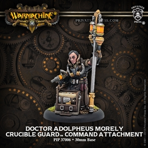 Warmachine: Golden Crucible (37006): Doctor Adolphues Morely