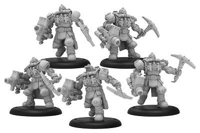 Warmachine: Golden Crucible (37003): Crucible Guard Storm Troopers