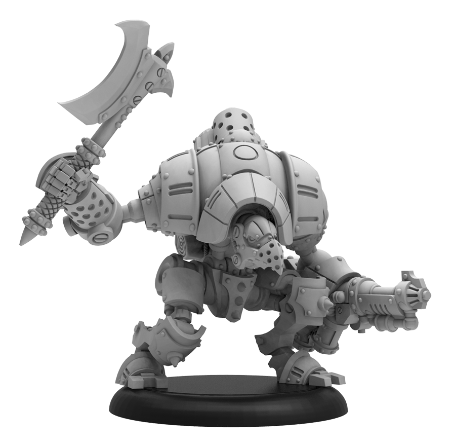 Warmachine: Golden Crucible (37009): Retaliator Light Warjack