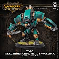 Warmachine: Golden Crucible (37011): Toro / Suppressor / Vindicator Heavy Warjack