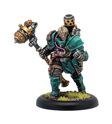 Warmachine: Golden Crucible (37012): Aurum Legate Lukas Di Morra