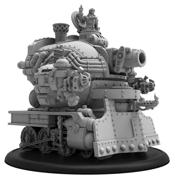 Warmachine: Golden Crucible (37019): Captain Eira Mackay (Variant) - Battle Engine/Warcaster