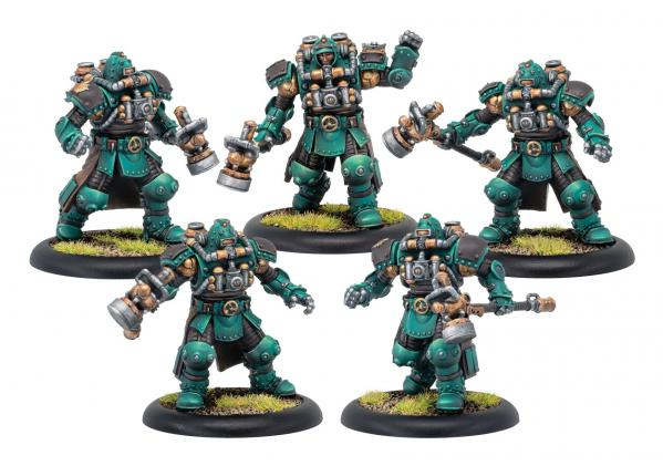Warmachine: Golden Crucible (37021): Crucible Guard Assault Troopers Unit