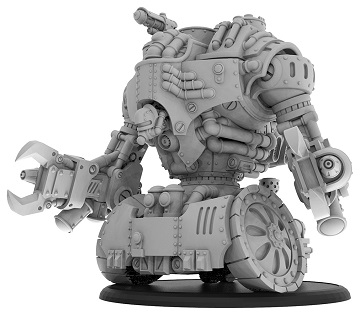 Warmachine: Golden Crucible (37022): Vulcan Colossal