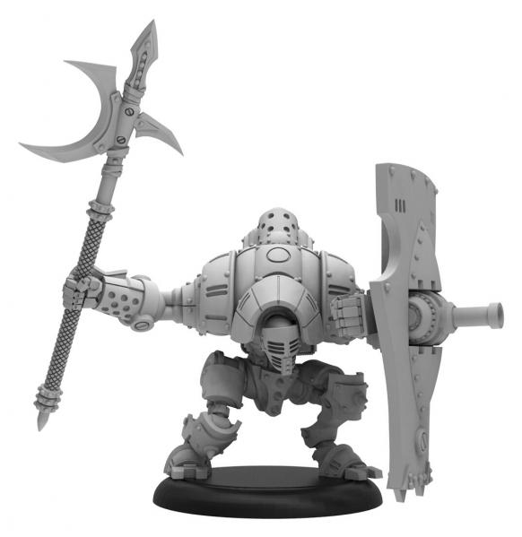 Warmachine: Golden Crucible/Mercenaries (37024): Vanguard – Mercenary Light Warjack