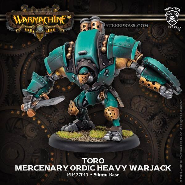 Warmachine: Golden Crucible (37011): Toro/Suppressor/Vindicator Heavy Warjacks