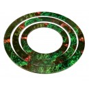Warmachine/ Hordes: Full Art Area Of Effect Ring Set- Forest