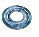 Warmachine/ Hordes: Full Art Area Of Effect Ring Set- Ice