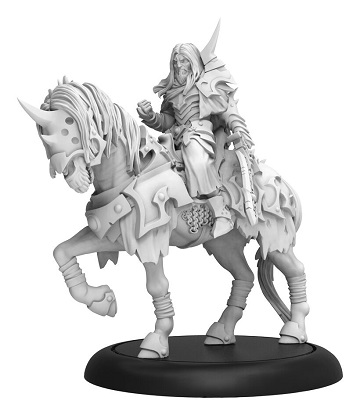 Warmachine: Infernal (38001): Valin Hauke Fallen Knight Cavalry Solo