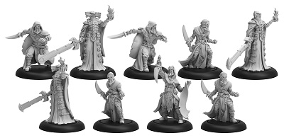 Warmachine: Infernal (38005): Cultist Band/Dark Sentinels Unit & Weapon