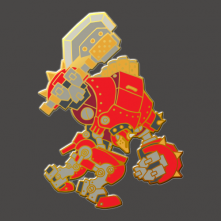 Warmachine: Juggernaut Pin