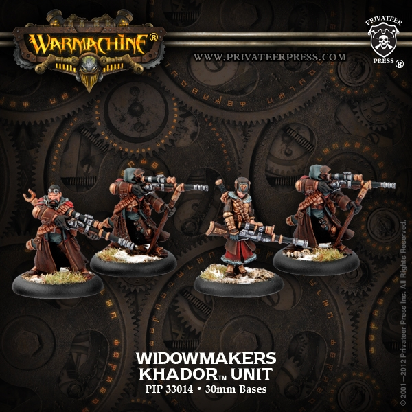 Warmachine: Khador (33014): Widowmakers Unit