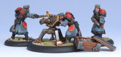Warmachine: Khador (33051): Winter Guard Field Gun Crew