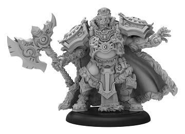 Warmachine: Khador (33122): Man-O-War Greylord Forge Seer