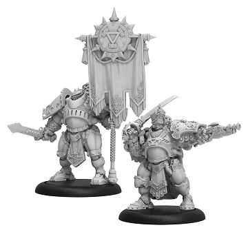 Warmachine: Khador (33128): Kommandant Atanas Standard Unit Box