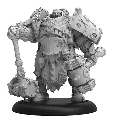 Warmachine: Khador (33129): Sergeant Dragos Dragadovich – Khador Command Attachment