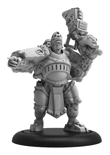 Warmachine: Khador (33130): Man-O-War Bombardier Officer